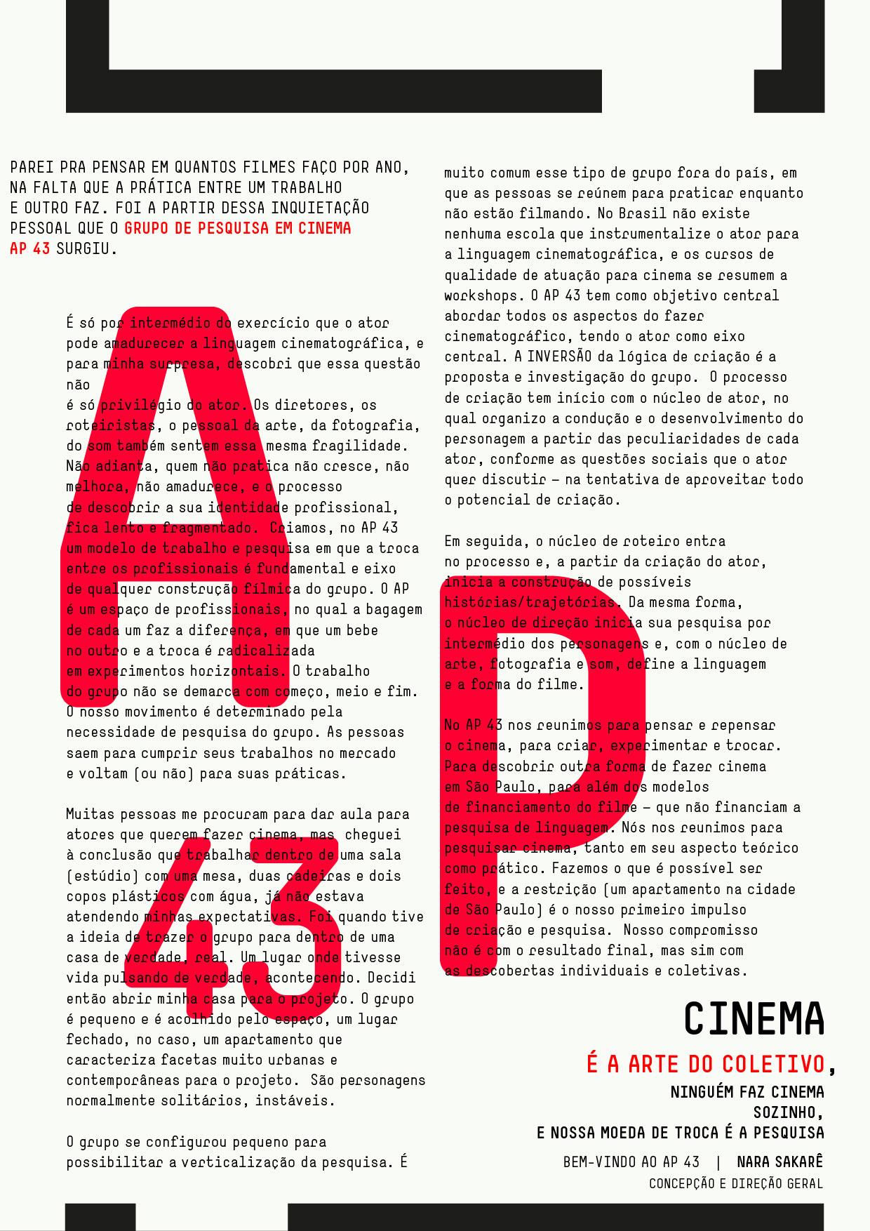 manifesto AP43