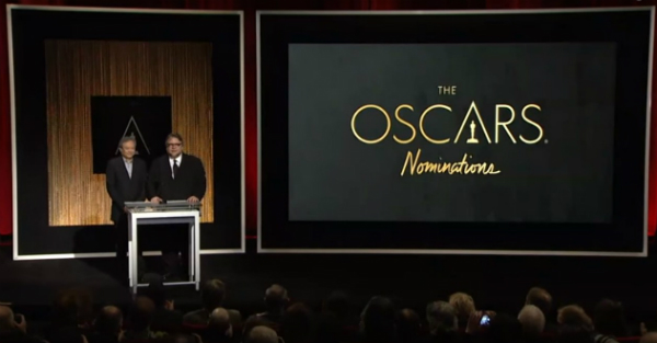 Ang Lee e Guillermo Del Toro - Oscar 2016