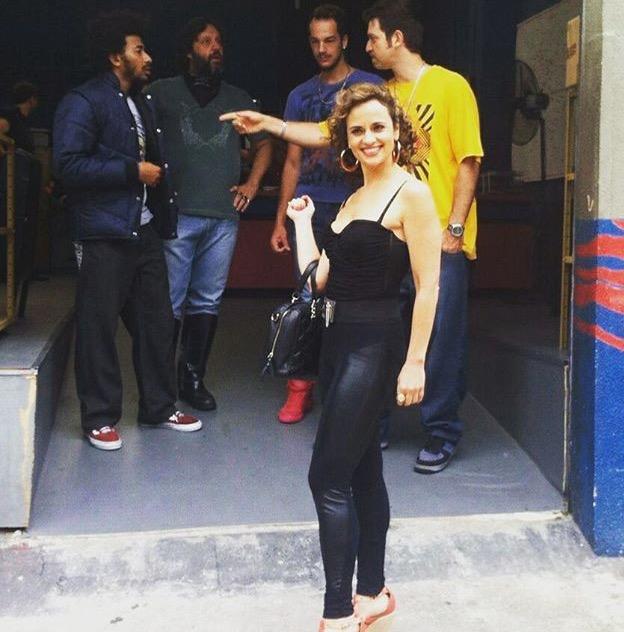 A atriz Fernanda Viacava, do AP43, lança trabalhos no cinema e na TV